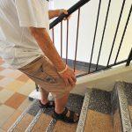 lutut sakit saat naik tangga
