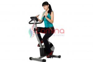 Sepeda statis memberikan manfaat layaknya treadmill