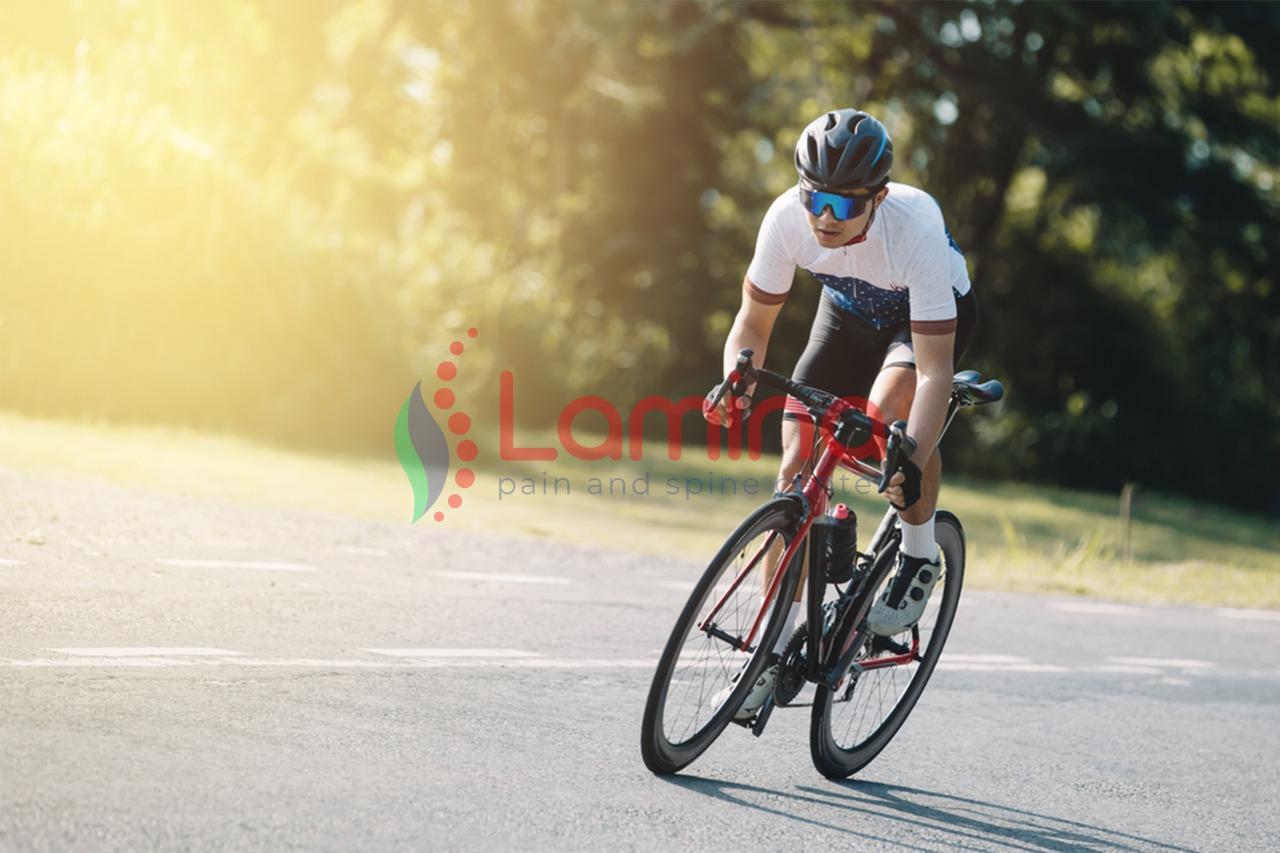 sakit lutut saat bersepeda